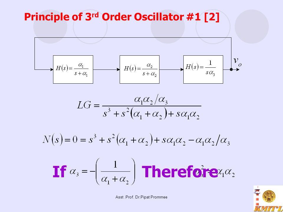 Principle of 3rd Order Oscillator #1 [2]